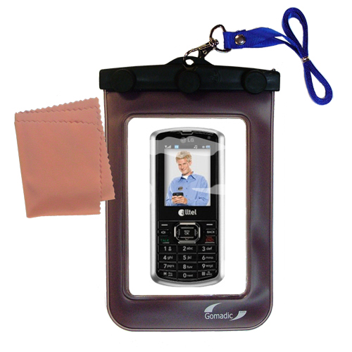 Waterproof Case compatible with the LG AX265 to use underwater