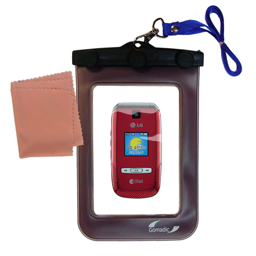 Waterproof Case compatible with the LG AX500 to use underwater