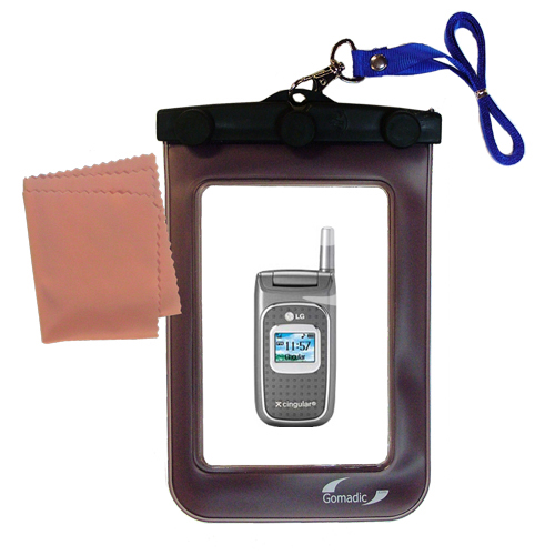 Waterproof Case compatible with the LG C1500 to use underwater