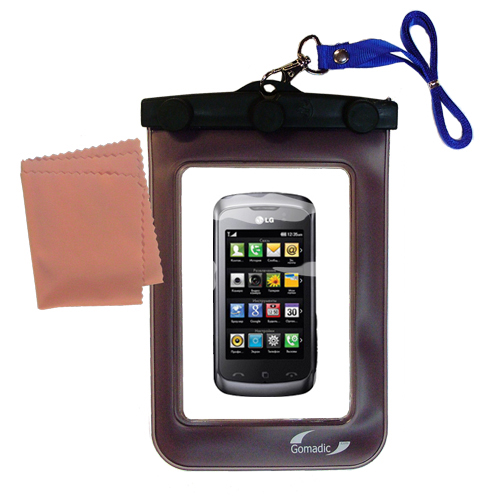 Waterproof Case compatible with the LG Clubby to use underwater