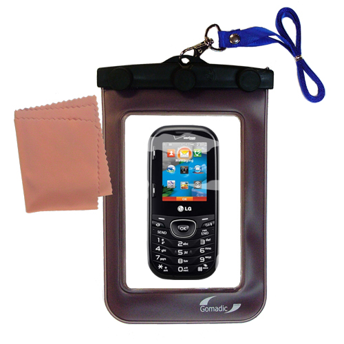 Waterproof Case compatible with the LG Cosmos 2 to use underwater