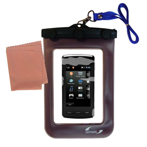 Waterproof Case compatible with the LG DARE to use underwater