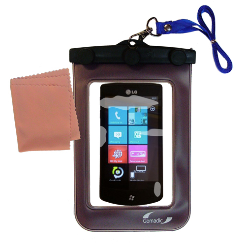 Waterproof Case compatible with the LG E900h to use underwater