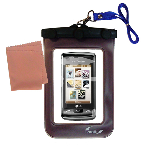 Waterproof Case compatible with the LG enV Touch to use underwater