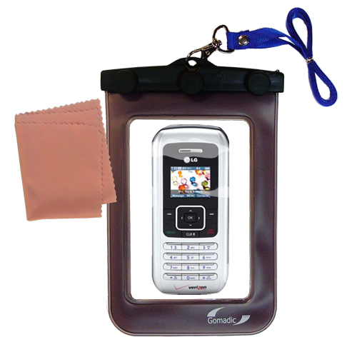Waterproof Case compatible with the LG EnV to use underwater