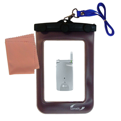 Waterproof Case compatible with the LG G4010 to use underwater