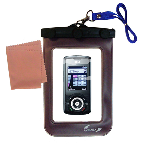 Waterproof Case compatible with the LG GB130 to use underwater