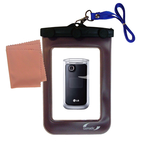 Waterproof Case compatible with the LG GB220 to use underwater
