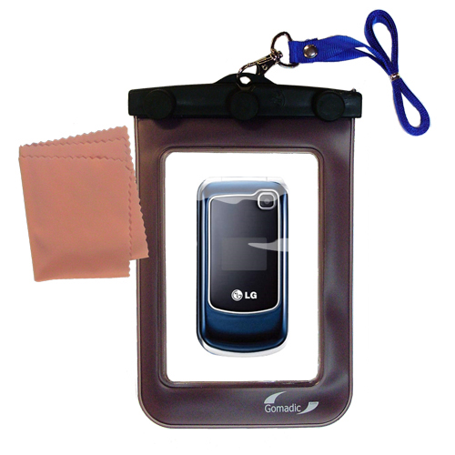 Waterproof Case compatible with the LG GB250 to use underwater