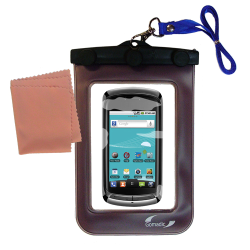 Waterproof Case compatible with the LG Genesis to use underwater