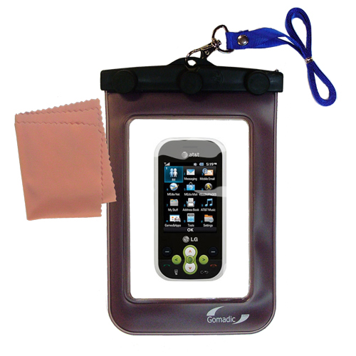 Waterproof Case compatible with the LG GT365 to use underwater