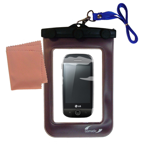 Waterproof Case compatible with the LG GW620 to use underwater