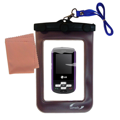 Waterproof Case compatible with the LG KP265 to use underwater