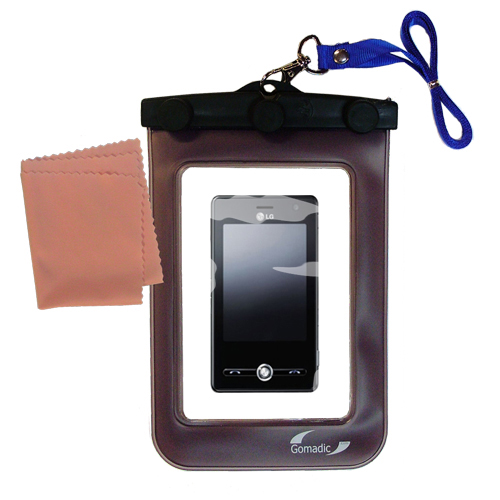 Waterproof Case compatible with the LG KS20 to use underwater