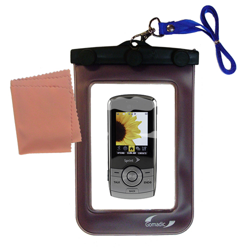 Waterproof Case compatible with the LG LX370 to use underwater