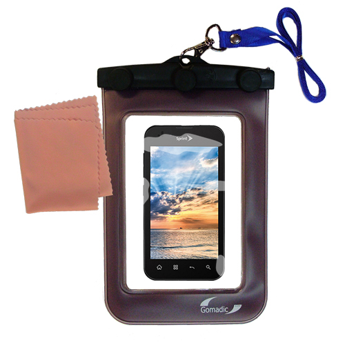 Waterproof Case compatible with the LG Marquee to use underwater