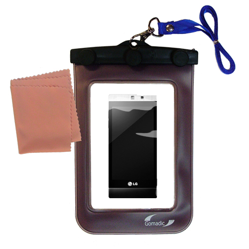 Waterproof Case compatible with the LG Mini to use underwater