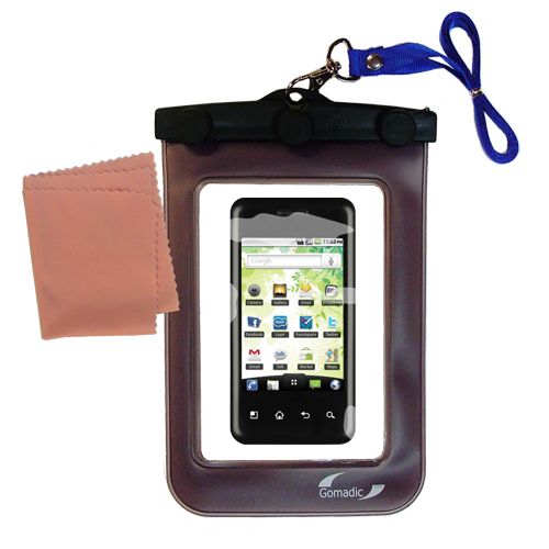 Waterproof Case compatible with the LG Optimus Chic to use underwater