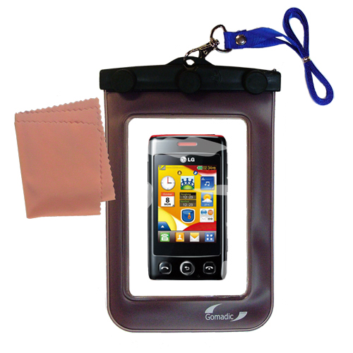 Waterproof Case compatible with the LG Papaya to use underwater