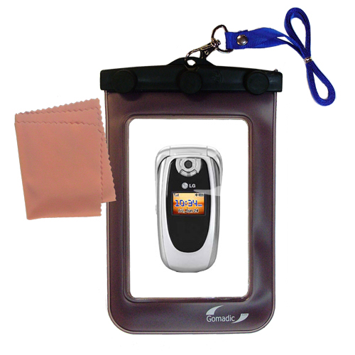 Waterproof Case compatible with the LG PM-225 PM-325 to use underwater