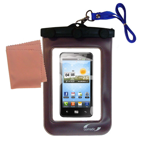 Waterproof Case compatible with the LG Revolution 2 to use underwater
