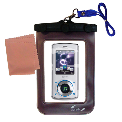 Waterproof Case compatible with the LG Rhythm to use underwater
