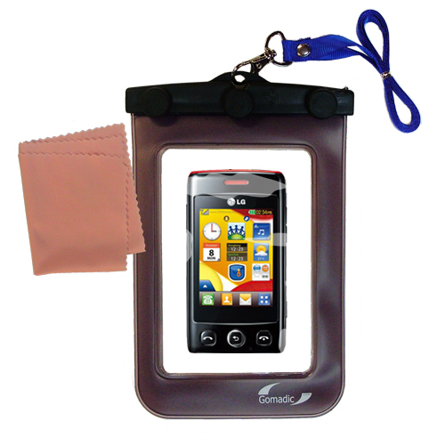 Waterproof Case compatible with the LG T300 to use underwater