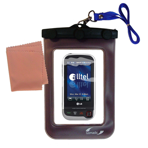 Waterproof Case compatible with the LG Tritan to use underwater