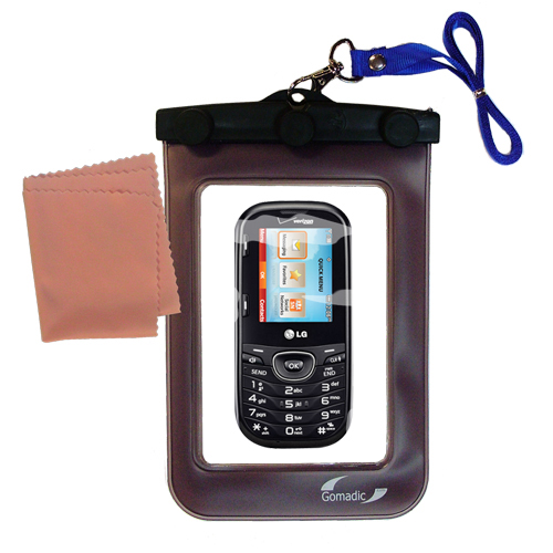 Waterproof Case compatible with the LG UN251 to use underwater