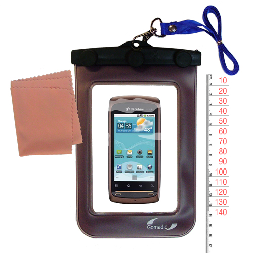 Waterproof Case compatible with the LG US740 to use underwater
