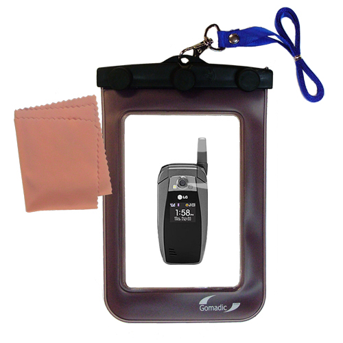 Waterproof Case compatible with the LG UX355 to use underwater