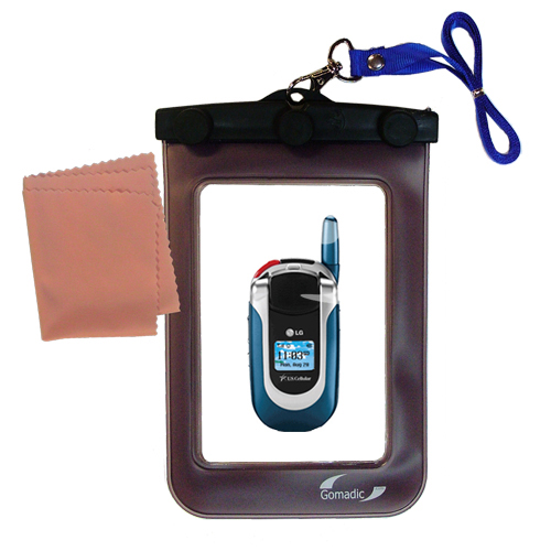 Waterproof Case compatible with the LG UX390 to use underwater