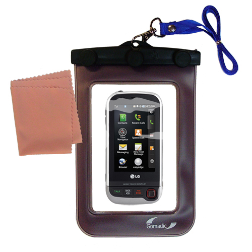 Waterproof Case compatible with the LG UX840 to use underwater
