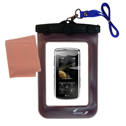 Waterproof Case compatible with the LG Venus to use underwater