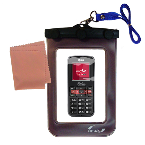 Waterproof Case compatible with the LG VM101 to use underwater