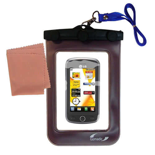 Waterproof Case compatible with the LG VN530 to use underwater