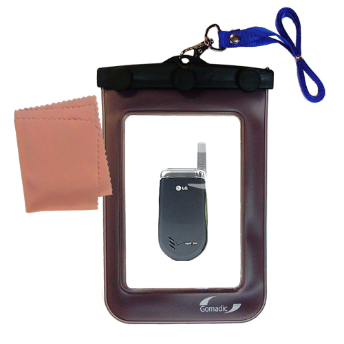 Waterproof Case compatible with the LG VX3200 to use underwater