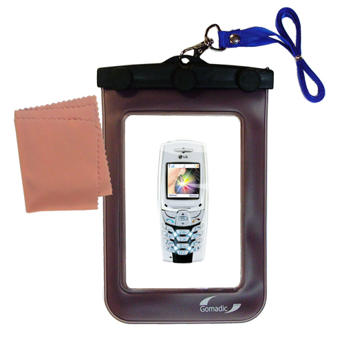 Waterproof Case compatible with the LG VX5300 / VX-5300 to use underwater