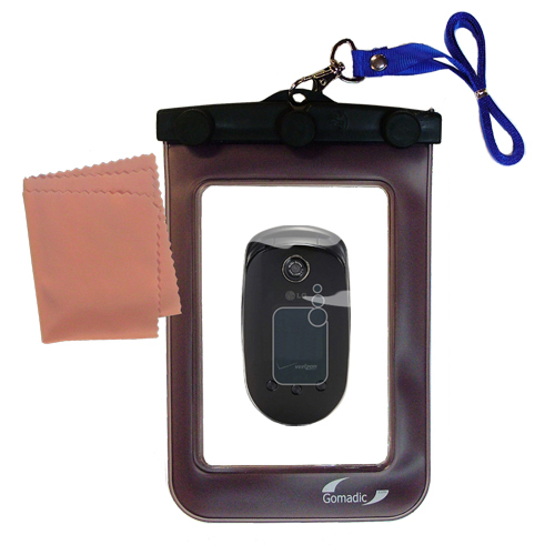 Waterproof Case compatible with the LG VX5400 to use underwater