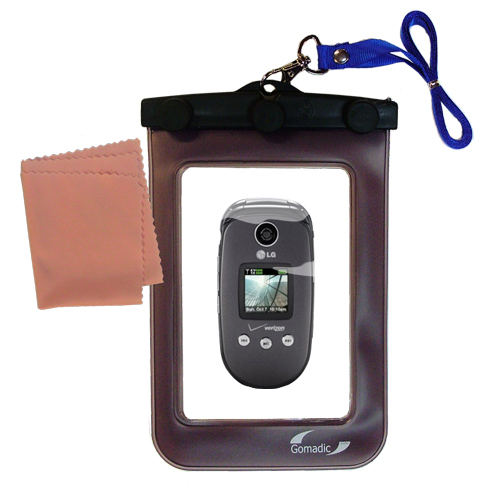 Waterproof Case compatible with the LG VX8350 to use underwater