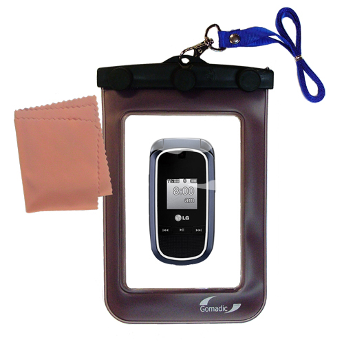 Waterproof Case compatible with the LG VX8360 to use underwater
