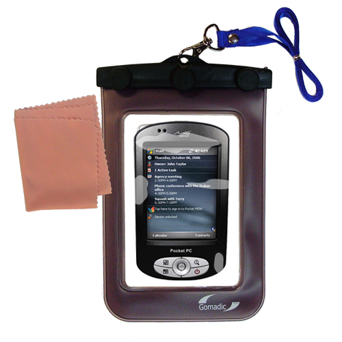Waterproof Case compatible with the Mio P550 to use underwater