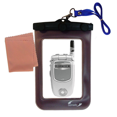 Waterproof Case compatible with the Motorola i730 to use underwater