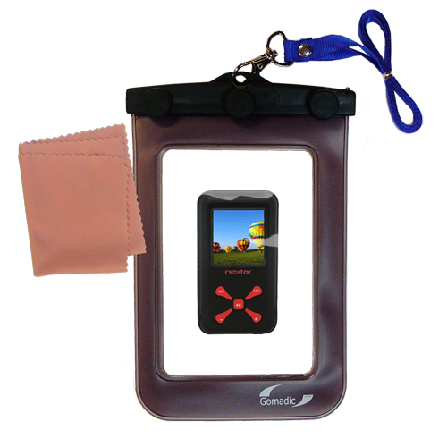 Waterproof Case compatible with the Nextar MA715 to use underwater
