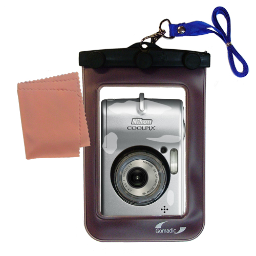 Waterproof Camera Case compatible with the Nikon Coolpix L12