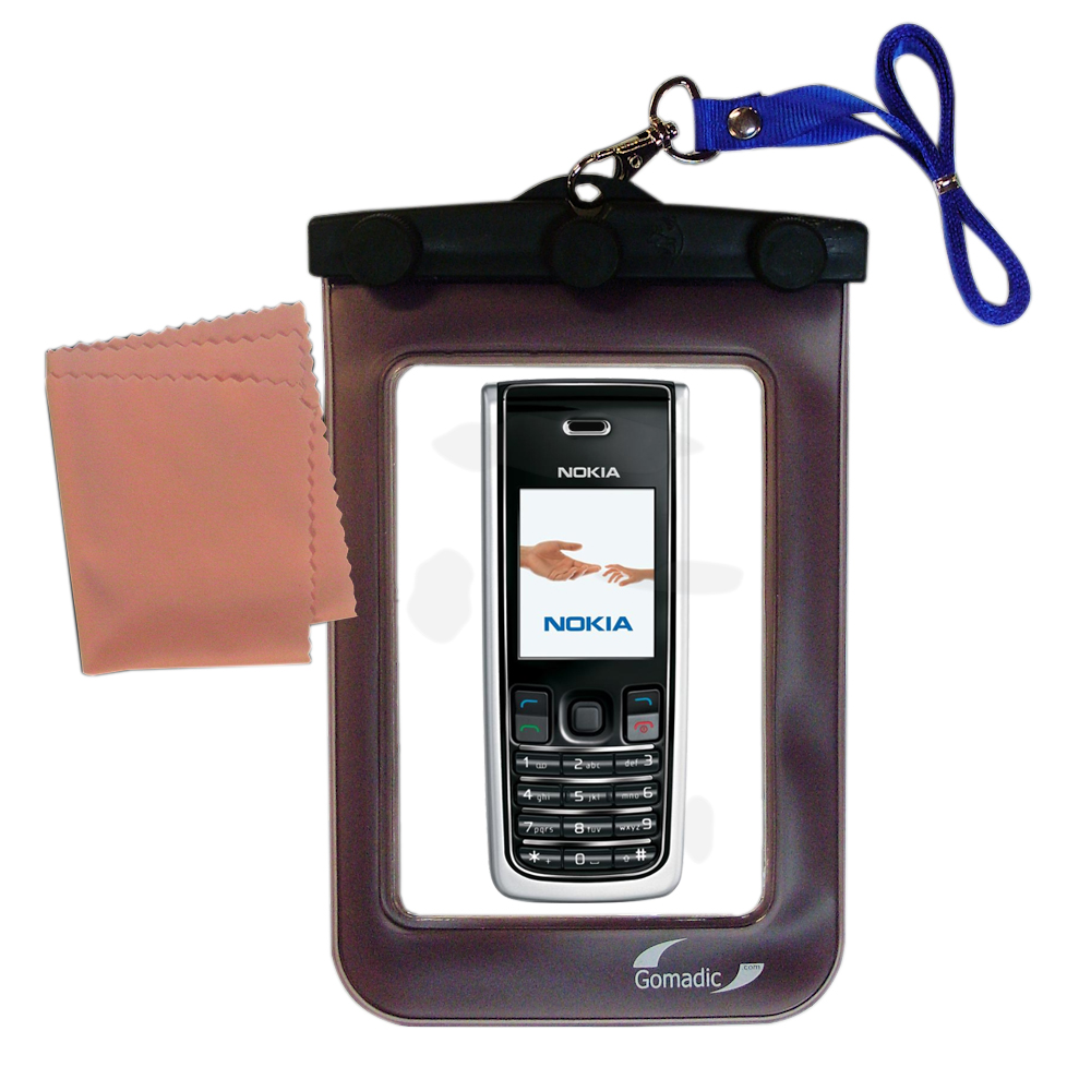 Waterproof Case compatible with the Nokia 2865i 3155i to use underwater