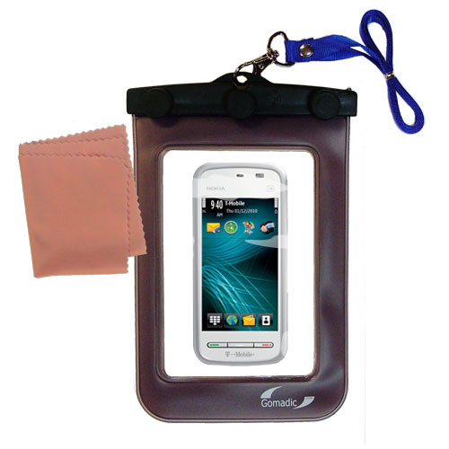 Waterproof Case compatible with the Nokia 5230 Nuron to use underwater