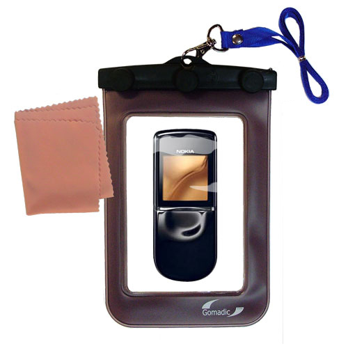 Waterproof Case compatible with the Nokia 8800 to use underwater