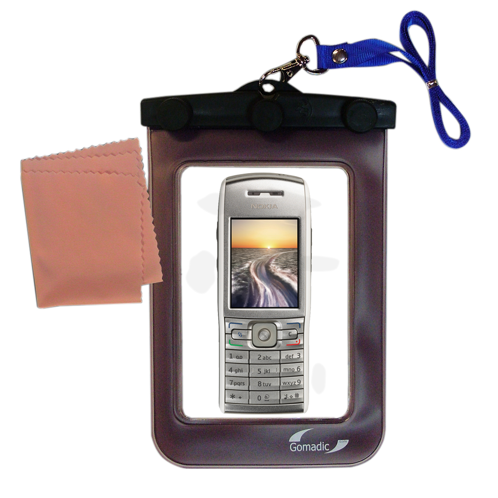 Waterproof Case compatible with the Nokia E50 to use underwater