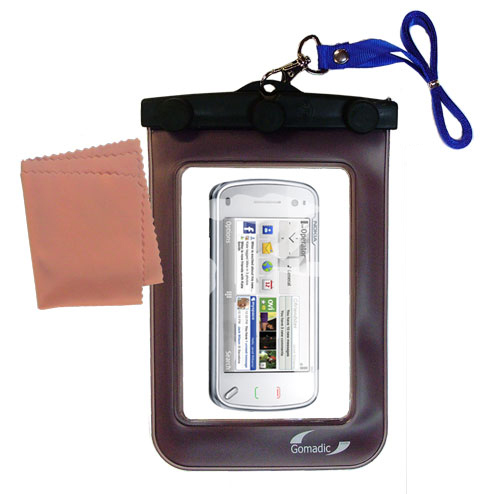 Waterproof Case compatible with the Nokia N97 Mini to use underwater